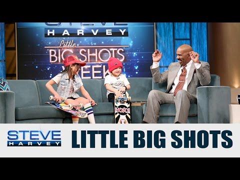Little Big Shots: I just saw my shin bleeding || STEVE HARVEY