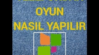 TELEFONDAN OYUN NASIL YAPILIR (APPSGEYSER)