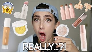 FENTY BEAUTY - Full Face of First Impressions & Honest AF Review
