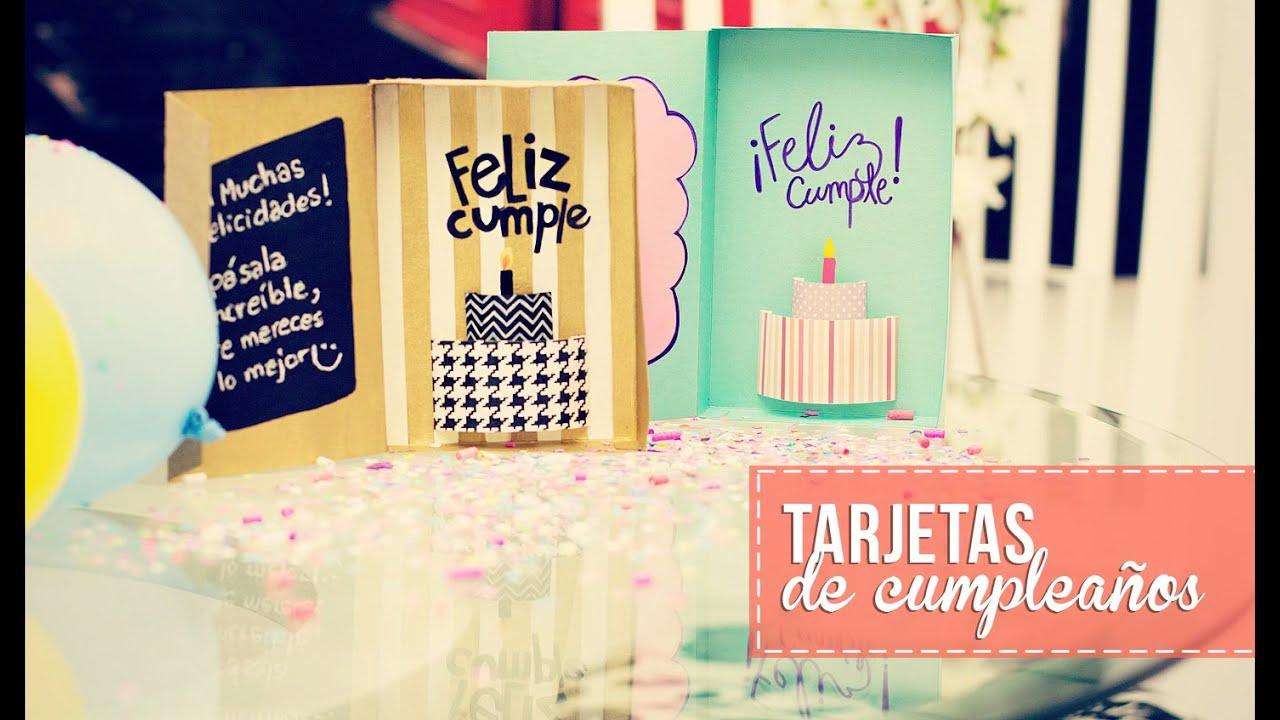 Tarjeta de cumpleaños 3D Anie YouTube