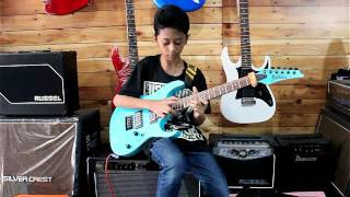 IBANEZ FLYING FINGERS INDONESIA 2016 - BAGAS 12 year old