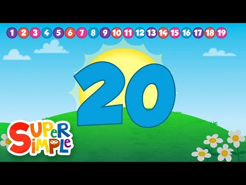 Count And Move (hd) | Super Simple Songs video