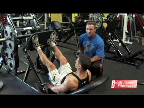 Instructional Fitness - Seated Leg Press Image 1