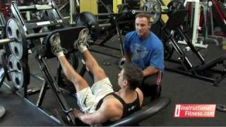 Instructional Fitness - Seated Leg Press