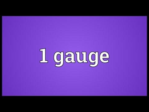 Header of 1 Gauge
