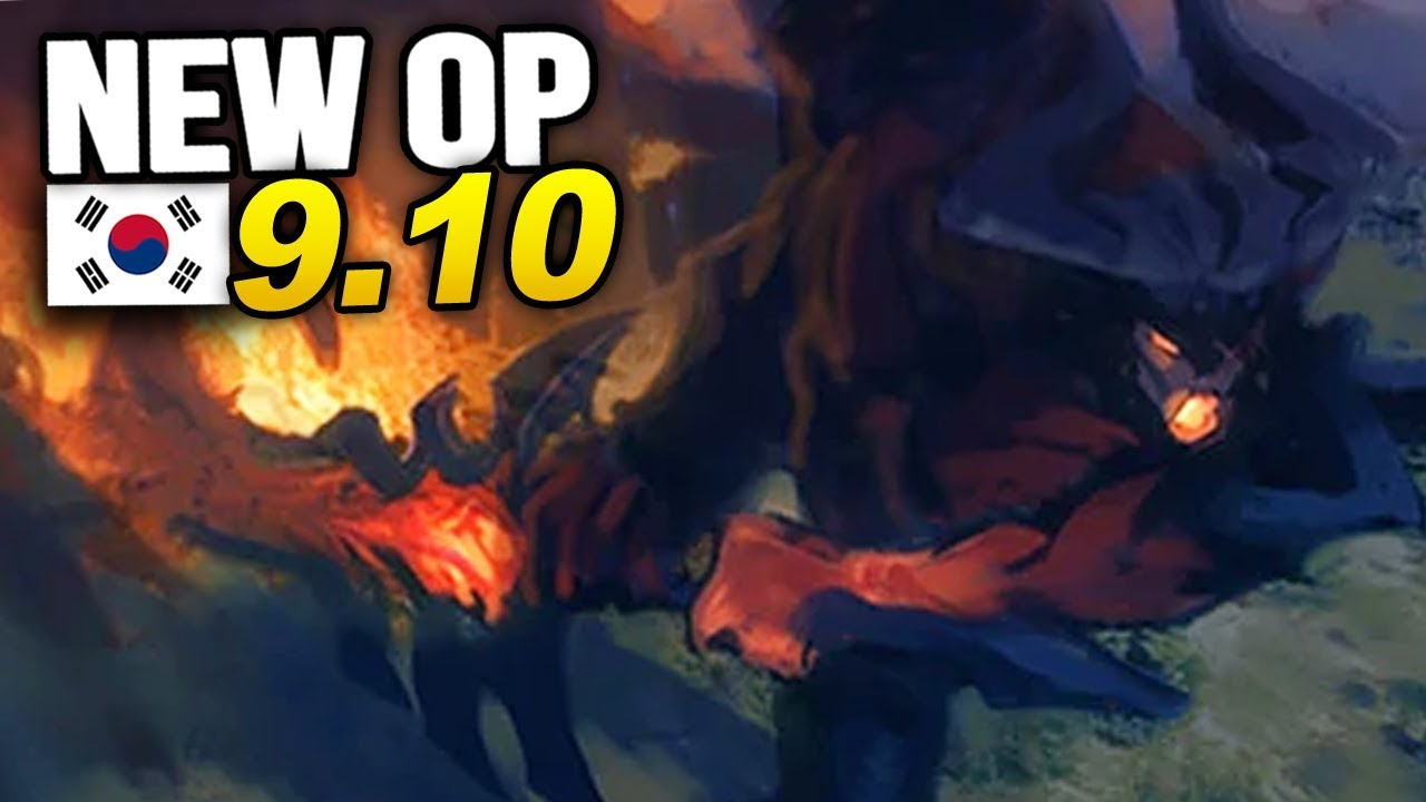 9 New OP Builds and Champs in Korea Patch 9.10 SEASON 9 (League of Legends)