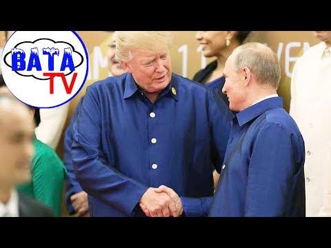 Как Трамп у Путина встречу выпрашивал