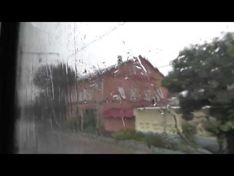 В дождь под стук колес поезда / Краснодар-1