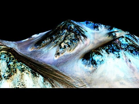 Nasa Find Evidence of Flowing Water on Mars