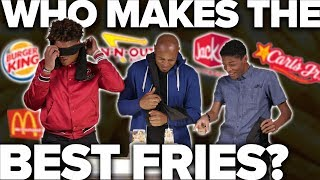Blind Taste Test - Fast Food French Fries