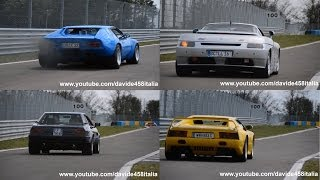 16x De Tomaso LAUNCHES! Guarà, Pantera & Longchamp SOUND