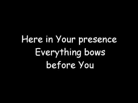 Here In Your Presence (with lyrics)