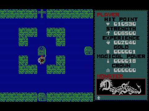 [PC-88] Dragon Slayer (1984) (Nihon Falcom)
