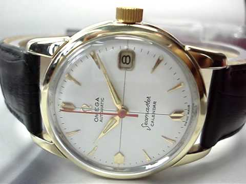 Vintage omega seamaster date mens watch for sale on ebay by seller great swiss watches youtube for Watches on ebay