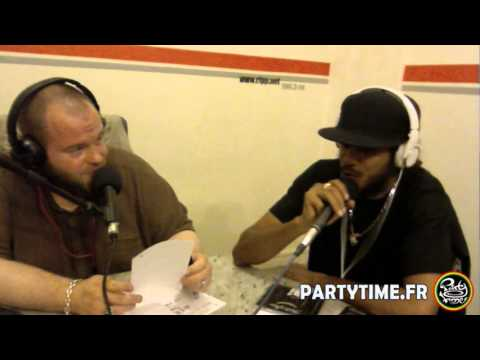 Taiwan Mc et Yaniss Odua at Party Time Radio Show - 16 Juin 2013