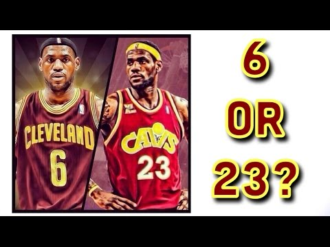 What Number Should LeBron Wear?