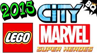 2015 LEGO Marvel City & Jurassic World Set NEWS