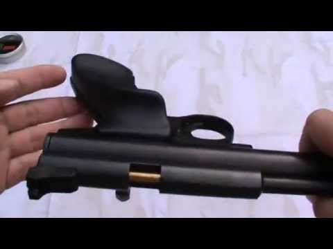 Crosman 2240 co2 pistol with Gmac custom short steel breech