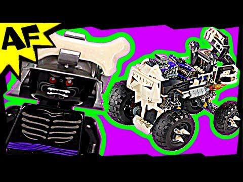 Lord Garmadon & SKULL TRUCK 2506 Lego Ninjago Animated Building Review