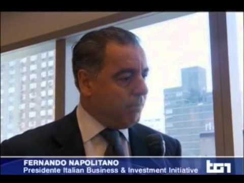 Intervista a Fernando Napolitano – TG1 1 marzo 2014