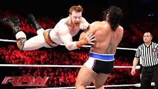 Sheamus vs. Rusev – United States Championship Match: Raw, November 10, 2014