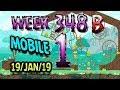 Angry Birds Friends Tournament Level 1 Week 348 B MOBILE Highscore POWER UP Walkthrough mp3