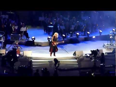 Freddie Mercury Queen Jessie J Olympic Closing Ceremony 2012