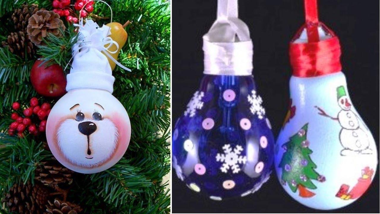 Игрушки из лампочек из лампочек