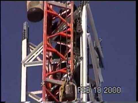 2000-February erecting main FM Tower in Aulds Cove.mpg