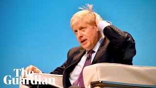 Boris Johnson refuses to answer questions about police visit to his home