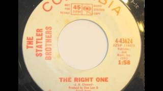 Watch Statler Brothers The Right One video
