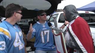 Raider Nation Blacks Out San Diego - Raiders @ Chargers 2011