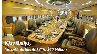 Most Expensive Private Jets owned by Indian Billionaires