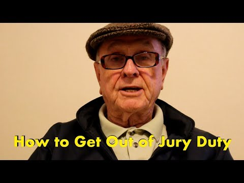 How to Get Out-Of Jury Duty
