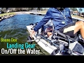 **EASY** Getting your HOBIE PA onoff the WATER!  (Boone Dox Landing Gear)
