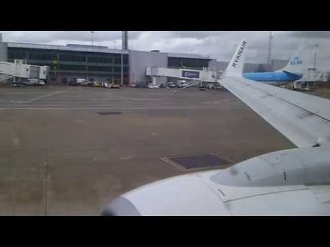 [HD] Ryanair Boeing 737-800 Take Off Manchester 04/05/13