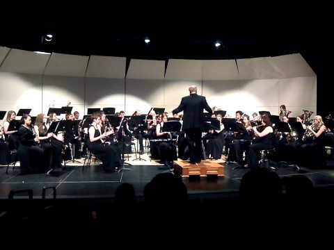 "Coronado High School Wind Ensemble Performing ""September"" 3-14-12"