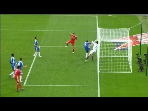 An historical day in football! Goal line technology unveiled ahead of Premier League kick off