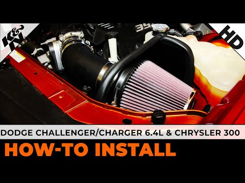 2011 - 2014 Dodge Challenger. 2012 - 2014 Chrysler 300 & Dodge Charger 6.4L Air Intake Installation