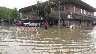 Raw: Grand Forks underwater