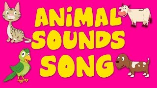 Animal Sound Song | Nursery Rhyme For Kids | Kids Song