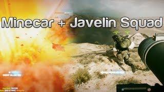 Battlefield 3 Minecar + Javelin Squad