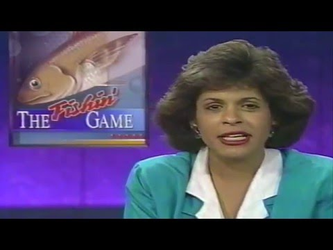 Frank Davis Fishin Game Report WWL-TV News 8-20-1992 New Orleans
