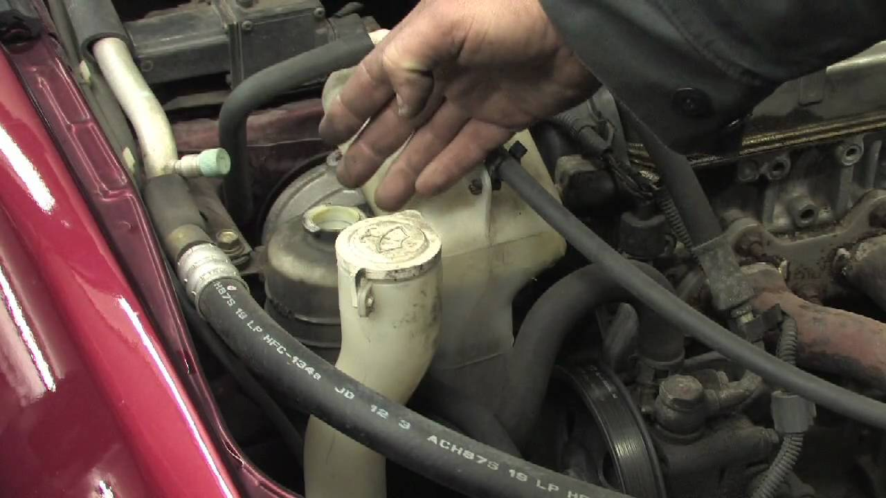 Car Maintenance How To Change Power Steering Fluid Youtube