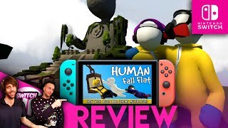 THE GOOD AND BAD BITS- Human Fall Flat Switch Review