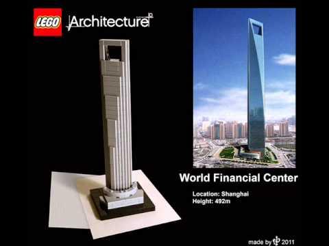 new lego architecture youtube