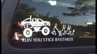 Funny Bumper Car Stickers that will make you look twice