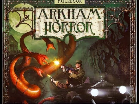 Off The Shelf Board Game Reviews Presents - Arkham Horror (part 1 How To Play)