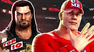 WWE Games - Top 10 WWE Gameplay Trailers Ever | WWE All Stars, Champions, Smackdown vs RAW