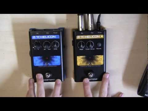 TC Helicon VoiceTone Pedals C1 & T1 Review